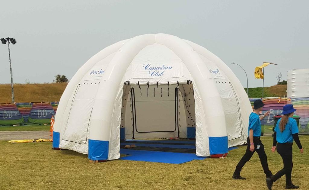 misting tent BAY DREAMS 1
